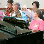 Musician and liturgist, Elaine Jahrsdoerfer, OP