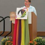 Maureen Geary, OP, preaching