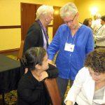 Laura Mogollon Lee (Benincasa), Margaret Mayce, OP, and Karen Gargamelli (Benincasa)