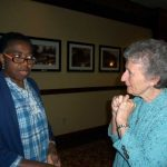 Margaret Uche (CDN novice) and Mary Ann Barrett, OP (Grand Rapids)