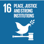 (16)Peace, Justice and Strong Institutions